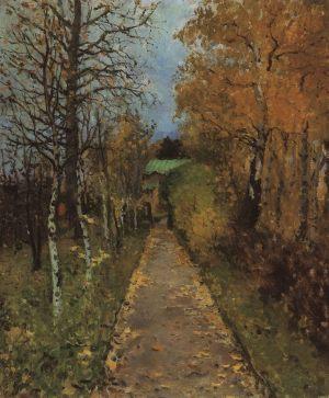Осень. Аллея в Жуковке. 1888