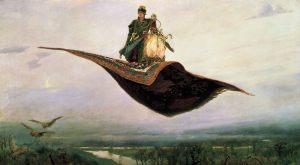 Ковер-самолет. 1880