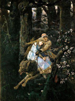 Иван Царевич на сером волке. 1889