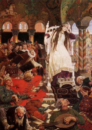 Царевна-несмеяна. 1916-1926