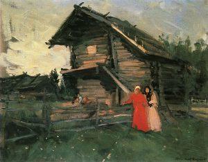 Сарай. 1900