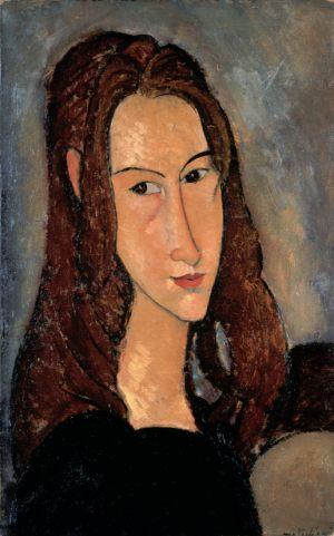 Портрет Жанны Эбютерн