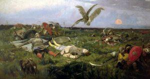 После побоища Игоря Святославича с половцами. 1880