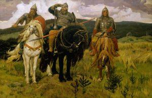 Виктор Васнецов. Три богатыря. 1881-98
