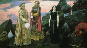 Три царевны подземного царства. 1884