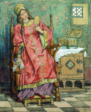 Царевна-Несмеяна. 1919